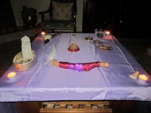 Shamanism altar